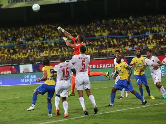 Kochi's JLNStadium is also used in the Indian Super League, serving as the home ground of the Kerala Blasters.