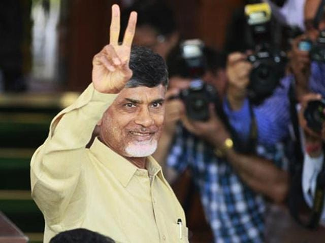 The net worth of Telugu Desam Party president and Andhra Pradesh chief minister N Chandrababu Naidu's assets is Rs 67 lakh.