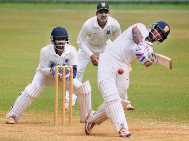 In the four Ranji matches he has played so far, Pant has scored a half-century. a big century, and a triple ton.