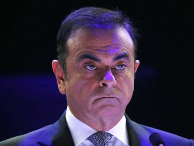 Carlos Ghosn, chairman and CEO of the Renault-Nissan Alliance, attends the company's annual shareholder meeting in Paris April 30, 2013.