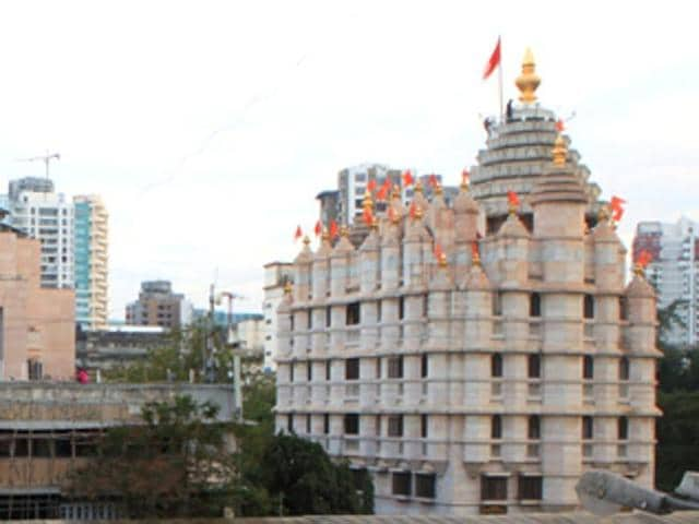 The Siddhivinayak temple, which is two centuries old and covers 20,745 square feet of prime Mumbai real estate, has adopted traditional rainwater harvesting methods.(HT file photo)