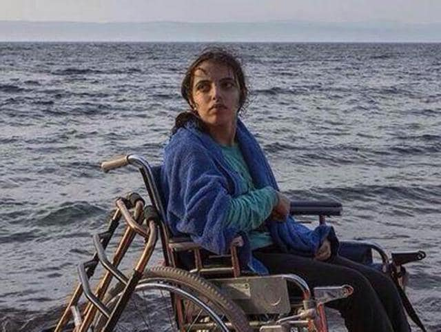 Nujeen Mustafa, who has cerebral palsy, has chronicled her arduous trek from war-ravaged Aleppo across Europe in a moving memoir, co-written with British journalist Christina Lamb.