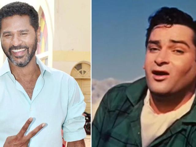 Prabhudheva,Shammi Kapoor,Bollywood