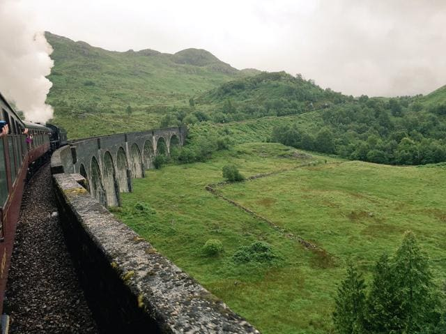 Harry Potter train,Juhi Chawla,JK Rowling's land