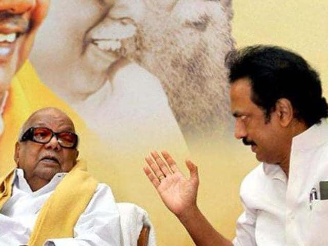 M Karunanidhi,MK Stalin,MK Alagiri