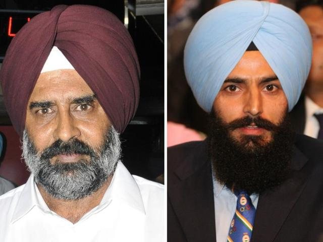 Pargat Singh (left) and Rajpal Singh (right)