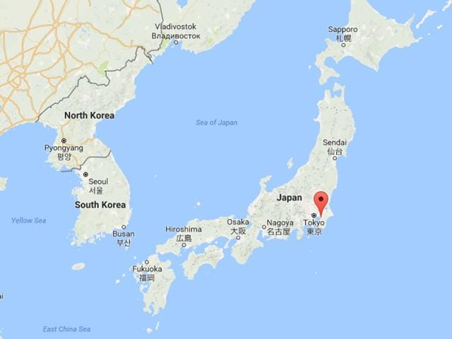 The epicentre of the earthquake, which occurred at 11:50 a.m. (0250 GMT), was in Chiba prefecture, east of Tokyo.