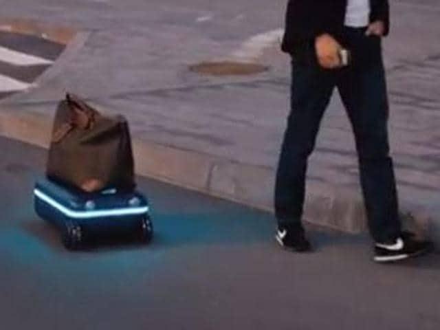 Travelmate,Travelmate suitcase,robotic suitcase