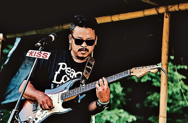 Singer Akhu Chingangbam hails from Imphal in Manipur.