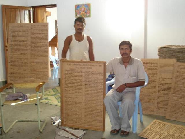 Chhattisgarh artist,ex-Maoists,Wood carvings