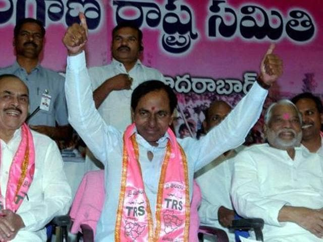 Telangana chief minister K Chandrasekhar Rao is set to become the subject of a political biopic.