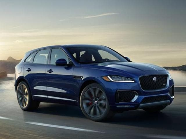 F-Pace is the first SUV from the British carmaker Jaguar Land Rover