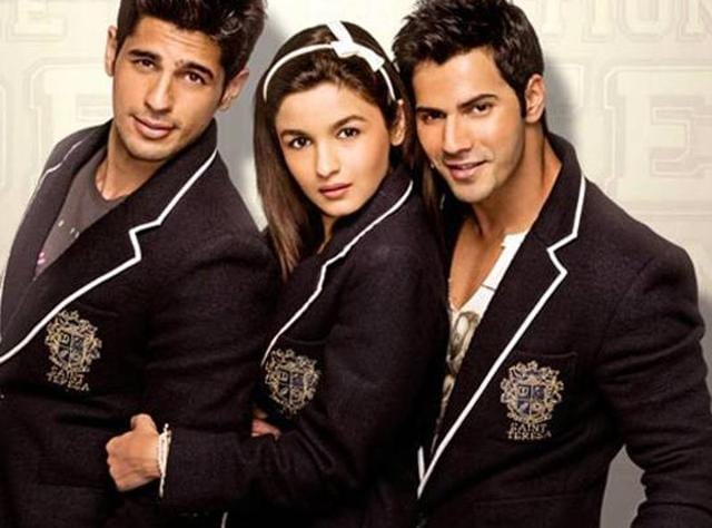 Varun Dhawan Alia Bhatt Celebrate 4 Years Of Student Of The Year