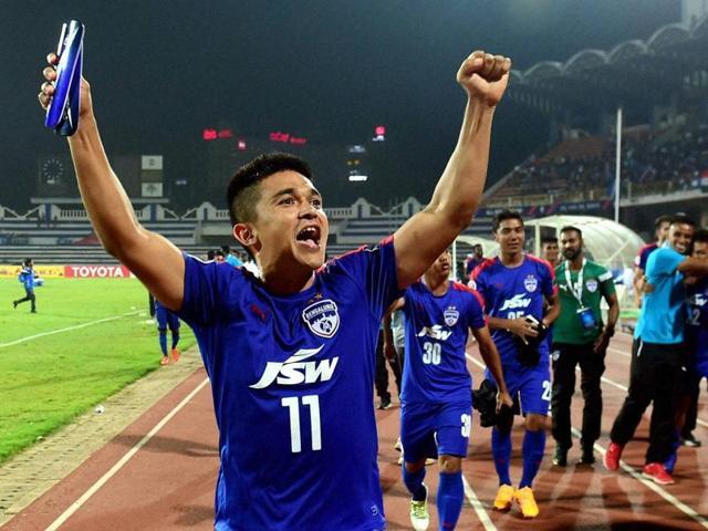 Sunil Chhetri,Bengaluru FC,AFC Cup semifinal