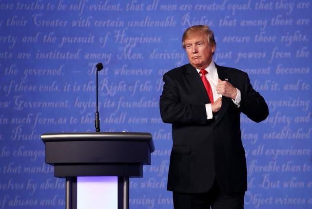 US Presidential debate,Donald Trump,Hillary Clinton