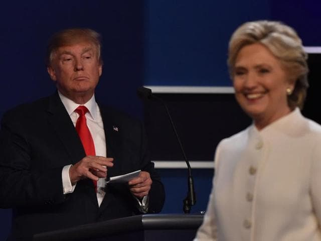 Donald Trump,Hillary Clinton,US Presidental Debate