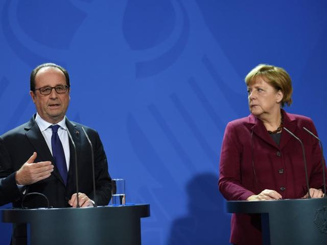 Germany,France,Syria conflict