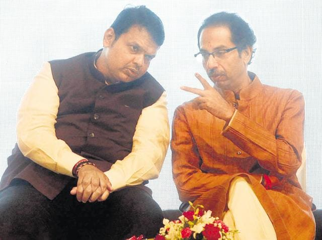 Undecided allies: Both parties want to win big in Mumbai, decide to use smaller polls in the runup to the BMC elections to test their strengths.
