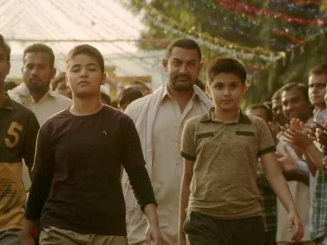 Dangal trailer,Aamir Khan,Sakshi Tanwar