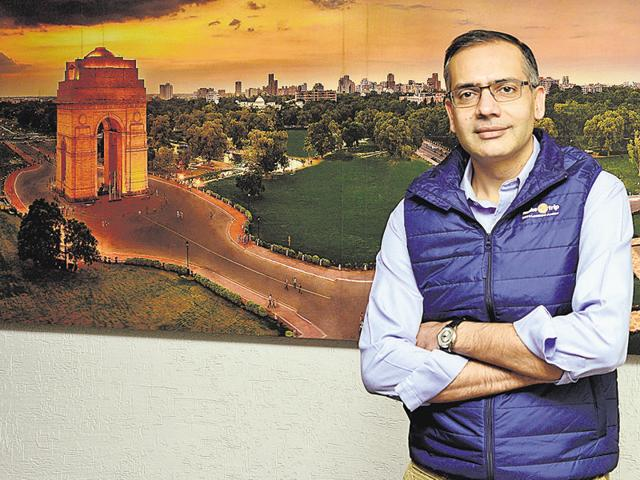 MakeMyTrip Founder and CEO Deep Kalra.