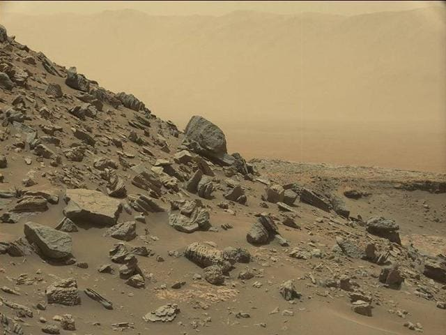Several processes at work in Mars' upper atmosphere may then act on the hydrogen, leading to its escape.