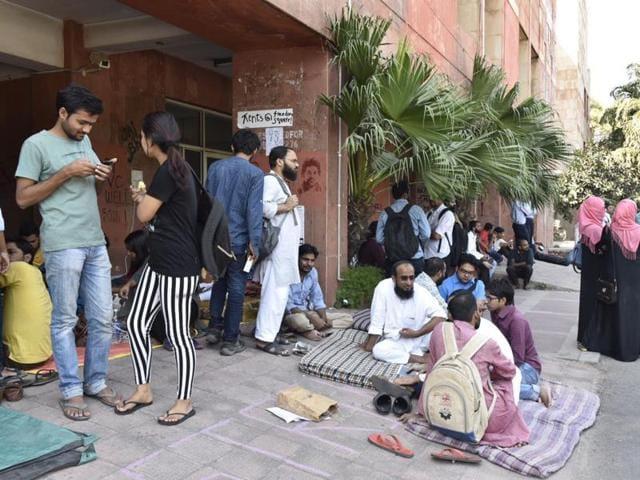 JNU,JNU Students Protest,Rajnath Singh