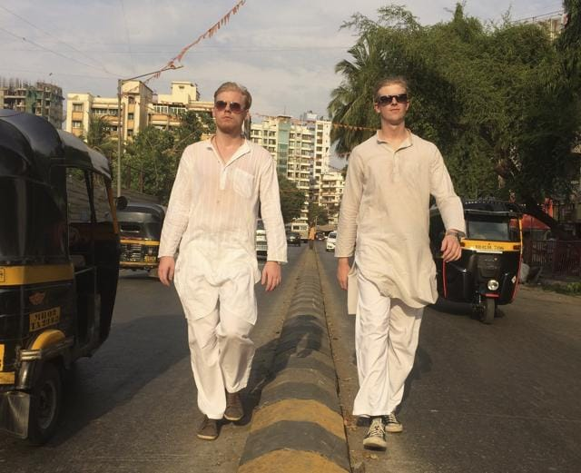 Johan Bartoli and Hampus Bergqvist's hilarious videos offer a peek into their obsession with Bollywood