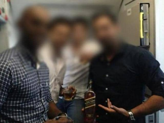 In September, the aviation regulator had asked low-cost carrier IndiGo to investigate four pilots who had posed for a photograph with a whisky bottle inside an aircraft, citing safety concerns.