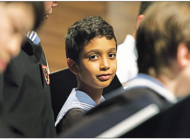 The choir pitch is closest to the Soprano quality of voice, which Rishan Bhatnagar possesses