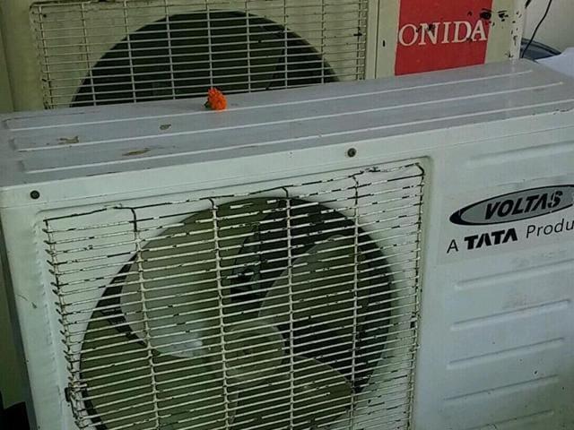 The seized ACs.