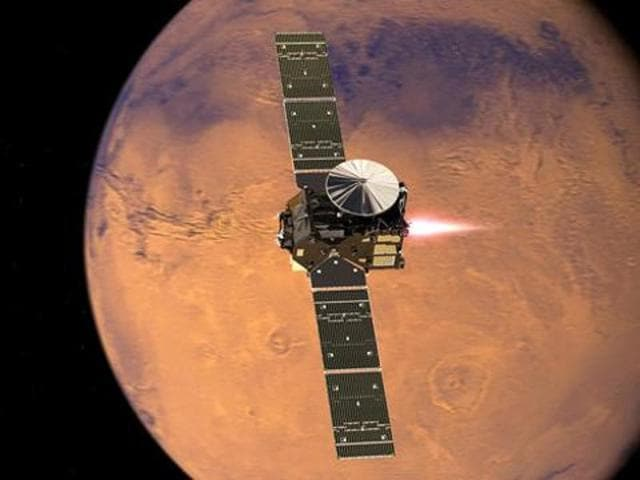 Europe's Schiaparelli lander crashed into the Red Planet on Wednesday -- the second failed attempt for Europe in 13 years.
