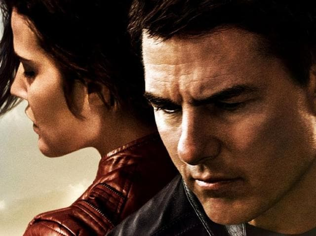 Tom Cruise returns as the drifter with a code in Jack Reacher: Never Go Back.