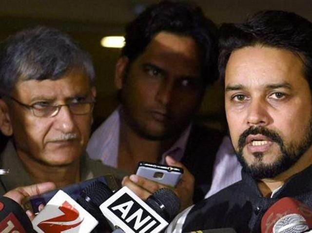 Anurag Thakur said he couldn't comment on the SC order's implications without having gone through the order first.