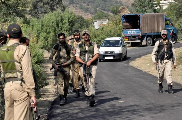 Security forces have been deployed in strength at vulnerable spots and along the main roads to ensure that the day passes off peacefully, the official said.