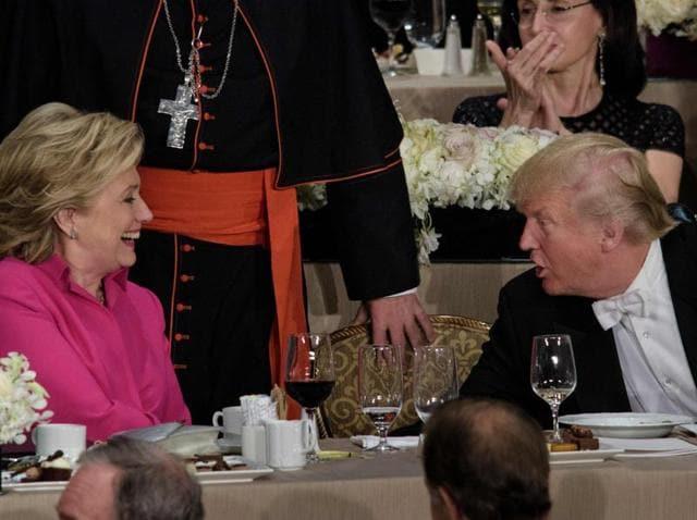 Donald Trump,Hillary Clinton,new york