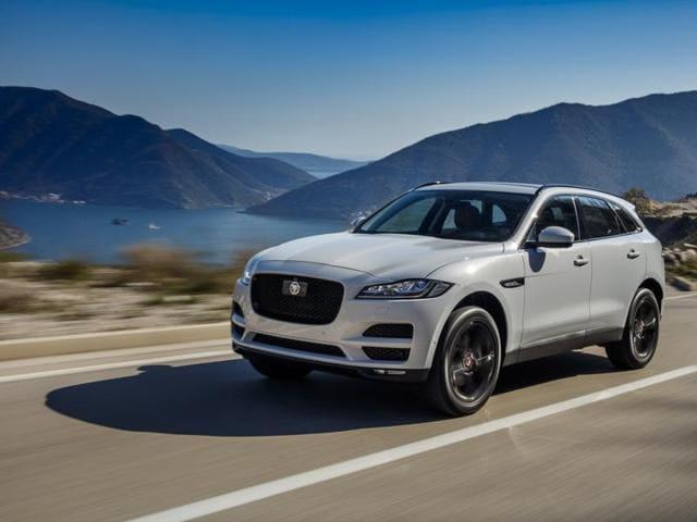 Jaguar F-Pace,SUV,Tata Motors