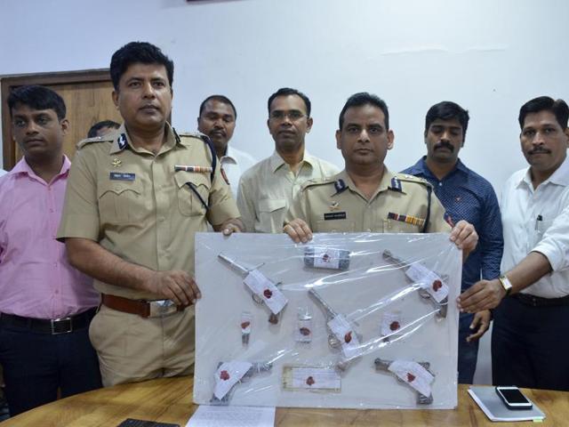 Navi Mumbai,illegal firearms,Nerul