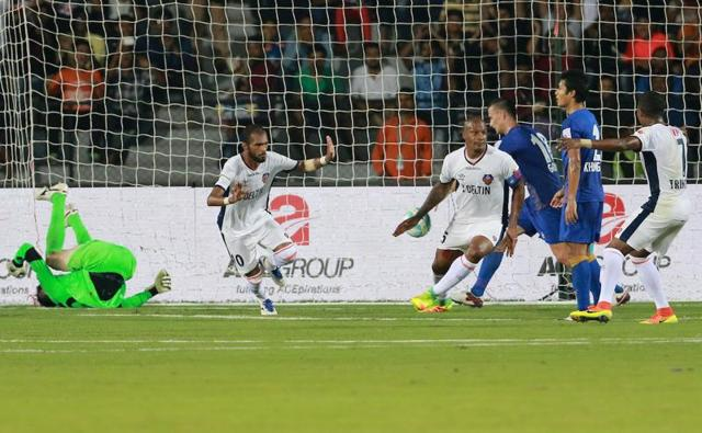 Mumbai had their chances in the second half but could not able to make the opportunities.