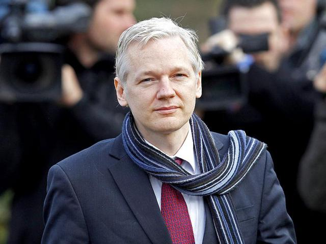 """Ecuador has cut Assange's internet access because of leaks by his anti-secrecy website  WikiLeaks """"impacting on the US election""""."""