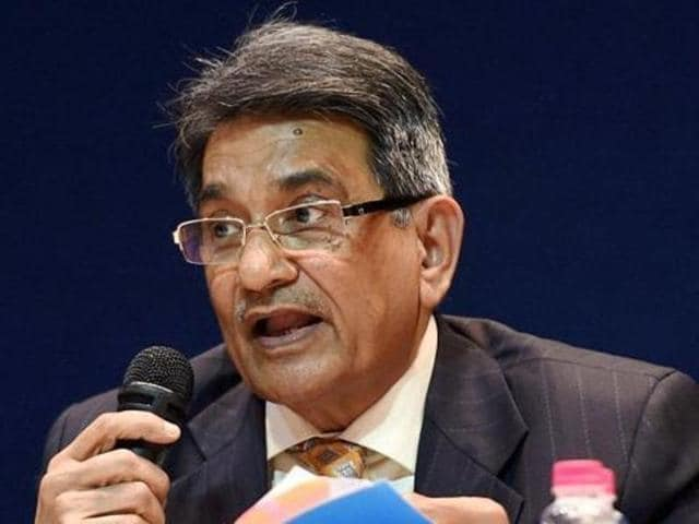 Justice Lodha, centre, said the apex court had done what it thought was best  to have its July 18 order implemented.