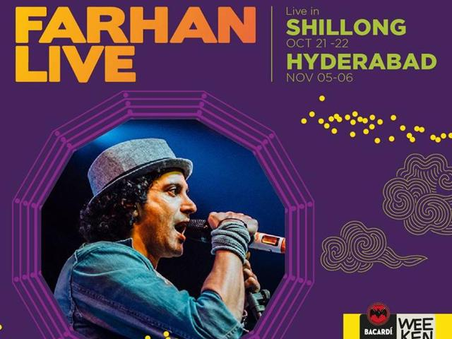 Farhan most croons his movie songs but of late he has began writing songs for his live performances too.