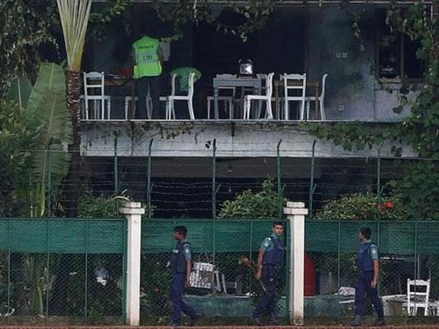 Bangladesh cafe siege