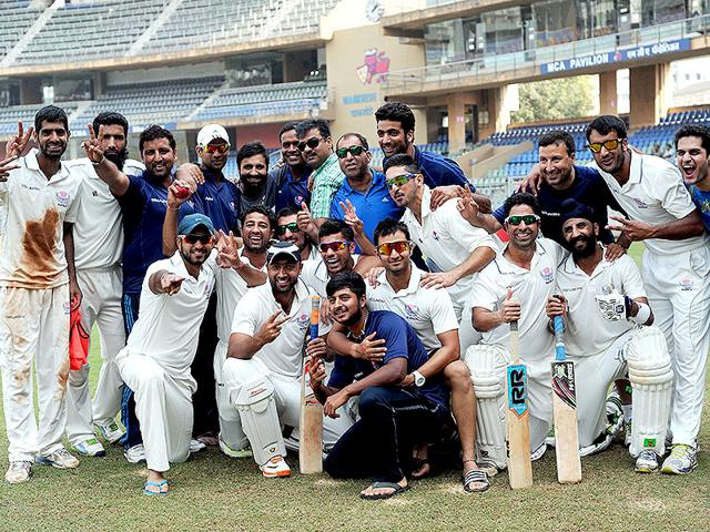 Jammu and Kashmir recorded a historic win over Mumbai to begin the 2014-15 Ranji season.