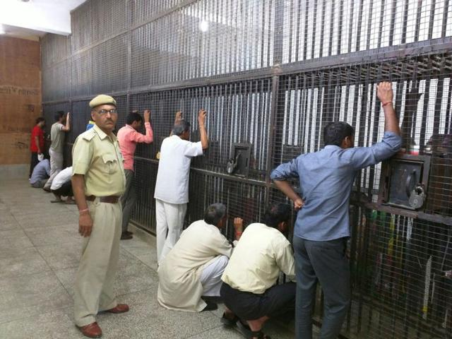 Bhondsi jail in Gurgaon, Haryana.  According to prisons data by the NCRB for 2015, more than 95%of Indian prisoners were male.