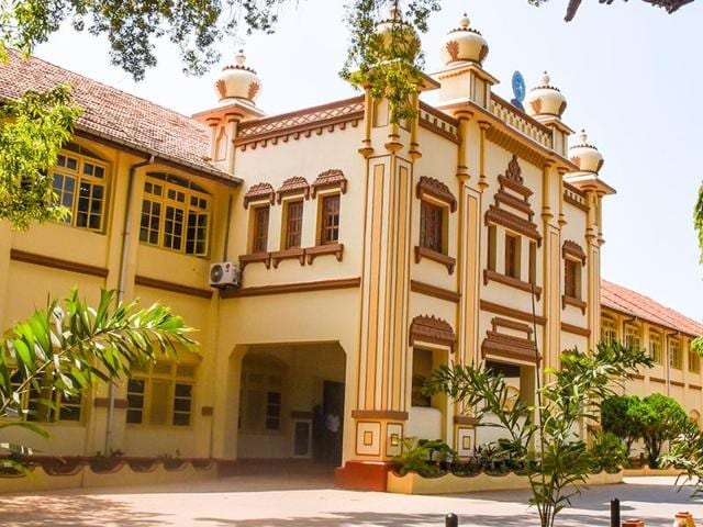 Admin block of Jaffna University in Northern Province of Sri Lanka. Two students of the university were shot dead by Sri Lankan police on Friday, Oct 21, 2016.
