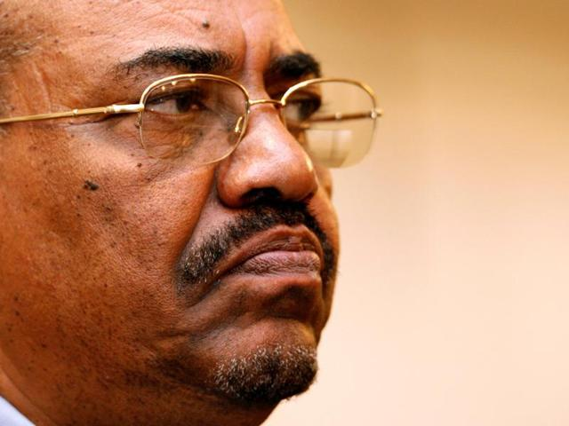 Sudanese President Omar al-Bashir speaks in capital Juba, South Sudan. South Africa has decided to withdraw from the ICC following a dispute over the visit in 2015 by al-Bashir, who is wanted by the tribunal for alleged war crimes, crimes against humanity and genocide.