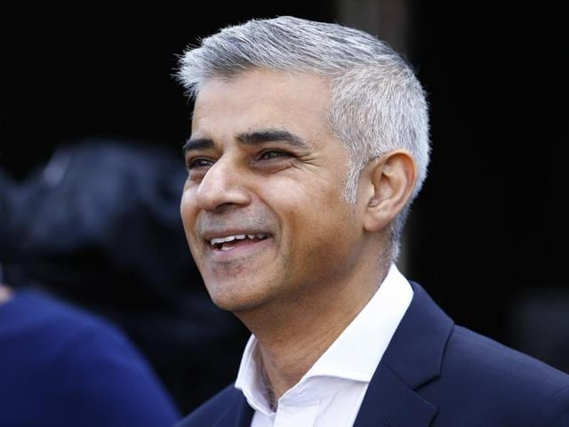 Sadiq Khan, the son of a bus driver from Pakistan, topped the list of 101 prominent Asians in Britain.