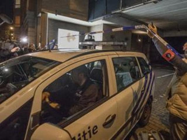 The incident came days after a man held 15 people hostage in a Brussels supermarket after a botched robbery.