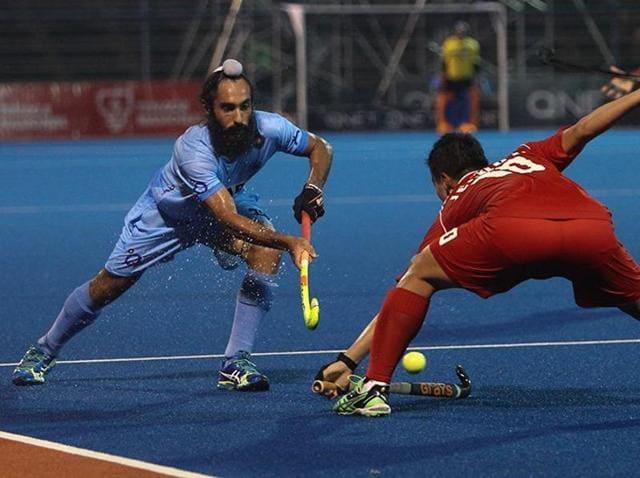 India vs South Korea,Asian Champions Trophy,PR Sreejesh
