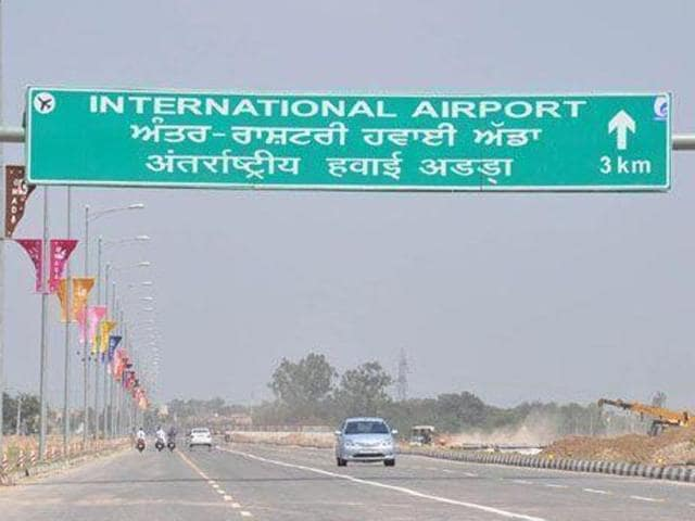 Chandigarh international airport,Rs 33-cr security cost,Punjab